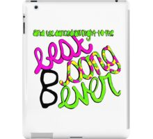 Best Song Ever lyric drawing iPad Case/Skin