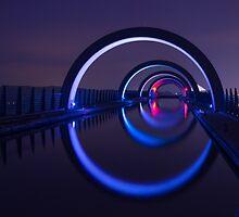 Falkirk Wheel Approach Aqueduct by urbankarma