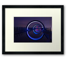 Falkirk Wheel Approach Aqueduct Framed Print