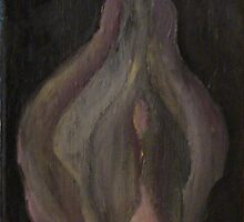 Vagina in a haze, when dick goes up / oil colors on canvas  by Natas