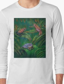 Poision Frogs Long Sleeve T-Shirt