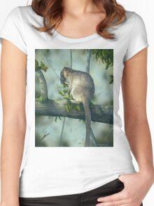 Tree Kangaroo Women's Fitted Scoop T-Shirt