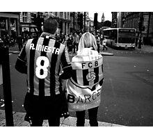 Fans Photographic Print