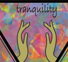 Tranquility  Sticker