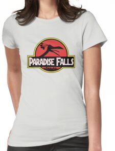 Paradise Falls Womens Fitted T-Shirt