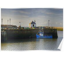 The Solway Coast ~ Maryport Harbour Poster