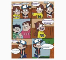 gravity falls comic 11 by kiragf