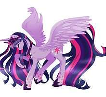 Twilight Sparkle - Alicorn collection by linamomokoart
