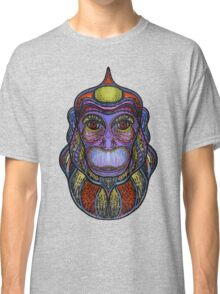 Psychedelic monkey Classic T-Shirt
