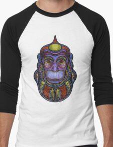 Psychedelic monkey Men's Baseball ¾ T-Shirt