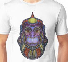 Psychedelic monkey Unisex T-Shirt