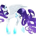 Rarity - Alicorn collection by linamomokoart