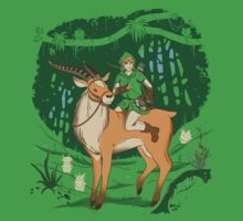 Legend of the Lost Woods by amandaflagg