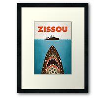 Zissou Framed Print
