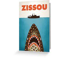 Zissou Greeting Card
