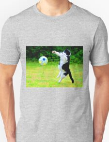 indie cat that loves football T-Shirt