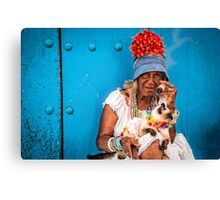 Santeroa in Havana Canvas Print