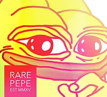 Rare Pepe Est MMXV by freelaffs