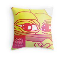 Rare Pepe Est MMXV Throw Pillow