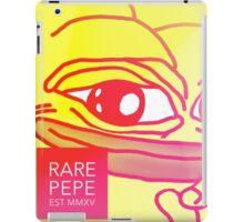 Rare Pepe Est MMXV iPad Case/Skin