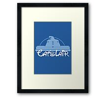 Visit Cat's Lair Framed Print