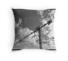 crane  Throw Pillow