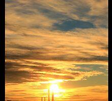Wanderlust - Sunset in Munich by fianchi04