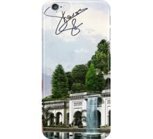 Hanging Gardens of Babylon and Sharon Stone iPhone Case/Skin