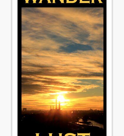 Wanderlust - Sunset in Munich Sticker