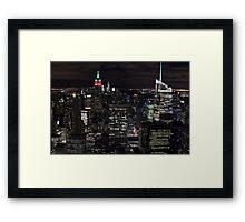 New York, New York! Framed Print