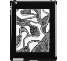 Zentangle Black and White Phone Case iPad Case/Skin