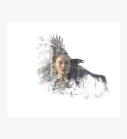 Raven - The 100 Photographic Print