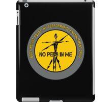 Body Weight Squat - My Performance Enhancement Drug iPad Case/Skin