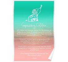 Affirmation - Empowering Children Poster