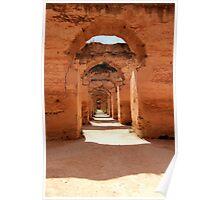 Royal Stables of Meknes Poster