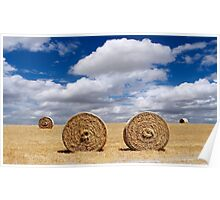 Two bales Poster