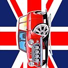 Rover Mini Cooper Sport Red (Union Jack) by Richard Yeomans