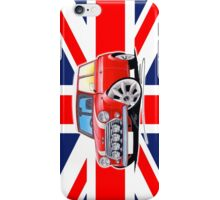 Rover Mini Cooper Sport Red (Union Jack) iPhone Case/Skin
