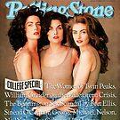 Rolling Stone: The Women Of Twin Peaks by Snufkin