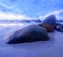 Blue Hour  North West Tasmania by Imi Koetz