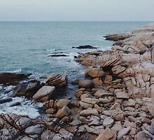 Rocky Coastline by visualspectrum