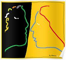 The Conversation -(180214)- Digital Artwork/MS Paint Poster