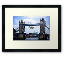London's Games Framed Print