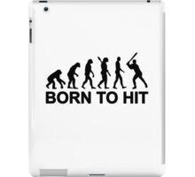 Evolution born to Baseball iPad Case/Skin