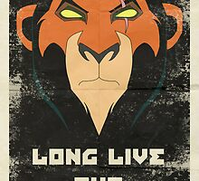 Long Live the New King Propaganda by coffeeandpoison