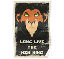 Long Live the New King Propaganda Poster