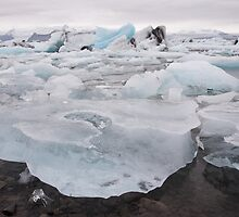 Lagoon Iceberg Field by Christopher Cullen