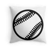 Baseball icon Throw Pillow