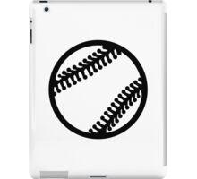 Baseball icon iPad Case/Skin