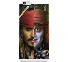 Johnny Depp - Mad Pirate iPhone Case/Skin